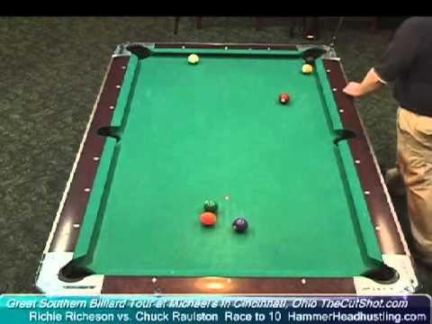 Billiards Match Richie Richeson vs Chuck Raulston