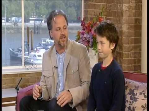 Martin Spinelli with son Lio on ITV