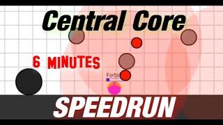 Evades.io Central Core Speedrun With Necro 6m03