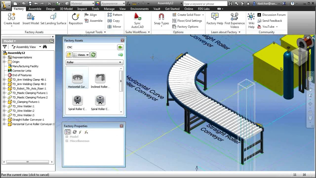 Easy Line Drawing Program : Autodesk factory design suite chapter creating d