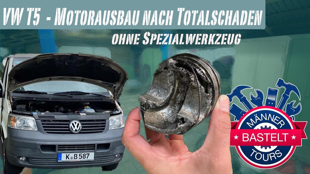 VW T5 - Motorausbau nach Totalschaden