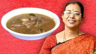 Gutti Vankaya Pulusu | Mallika Badrinath Recipes | Brinjal recipes