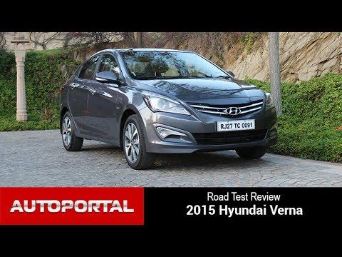 2015 Hyundai Verna Test Drive Review - Autoportal