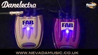 Danelectro FAB Fuzz Pedal Demo @ Nevada Music UK