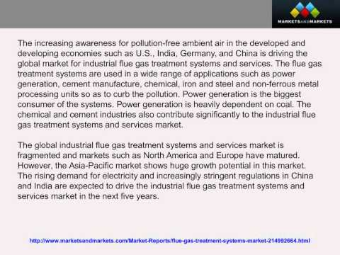 Industrial Flue Gas Treatment Systems Market Trends & Forecasts to 2019