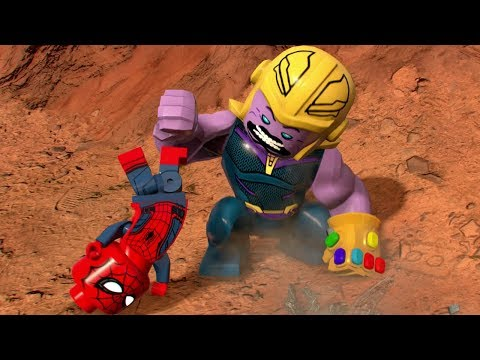 LEGO Marvel Super Heroes 2 - All DLC Characters With Big Heads (Cheat)