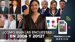 ¿Cómo iban las encuestas en 2006 y 2012? I Mientras Tanto en México