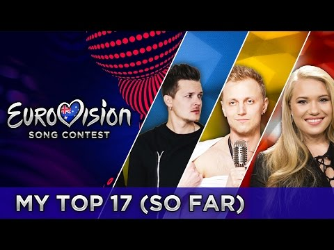 EUROVISION 2017 | TOP 17 - FROM AUSTRALIA (so far)