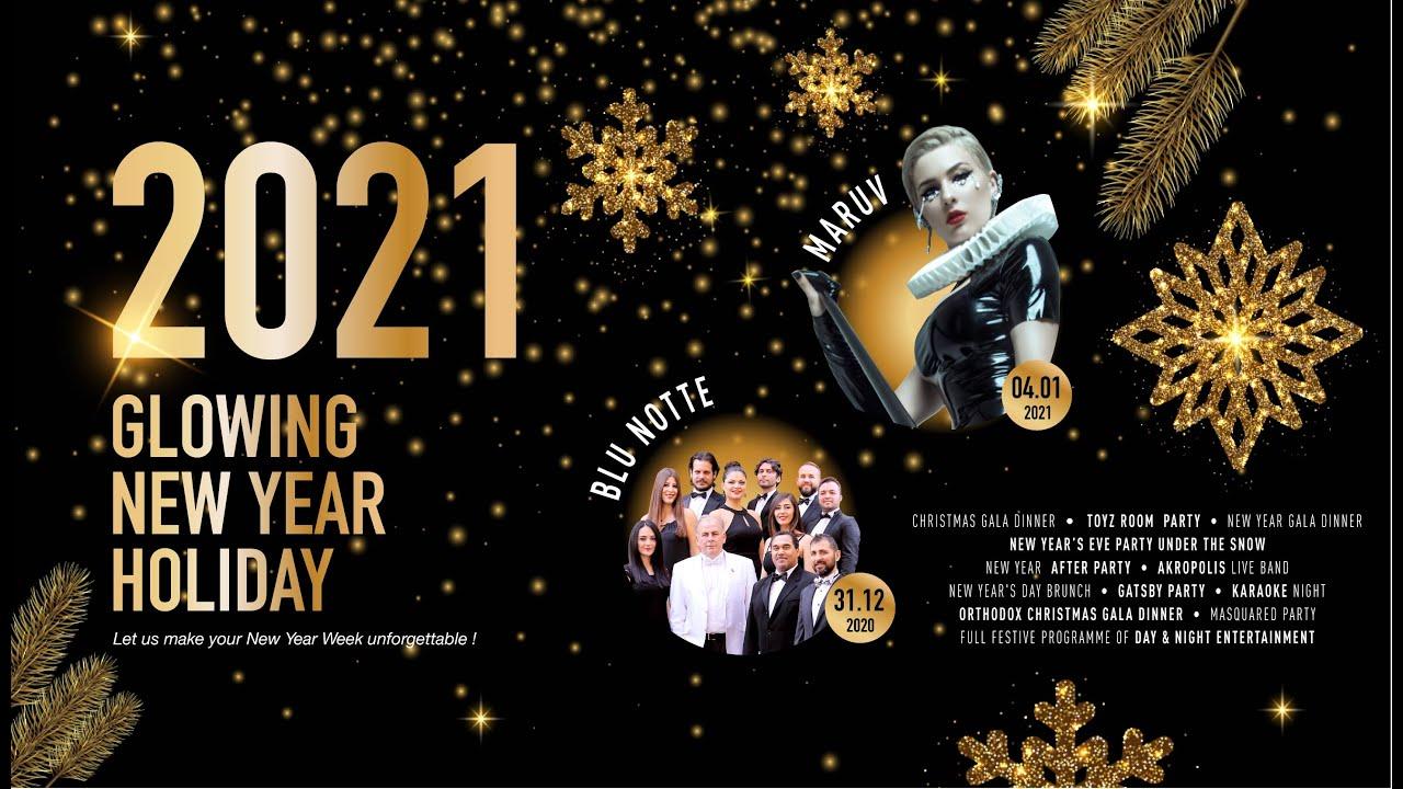Christmas Gala 2021 Glowing New Year Holiday 2021 Youtube