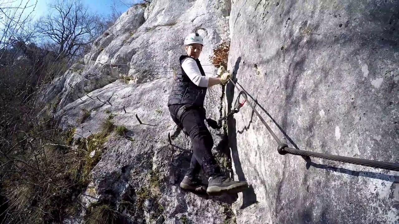 Klettersteig Rhein : Konsteiner klettersteig oberlandsteig altmühltal youtube