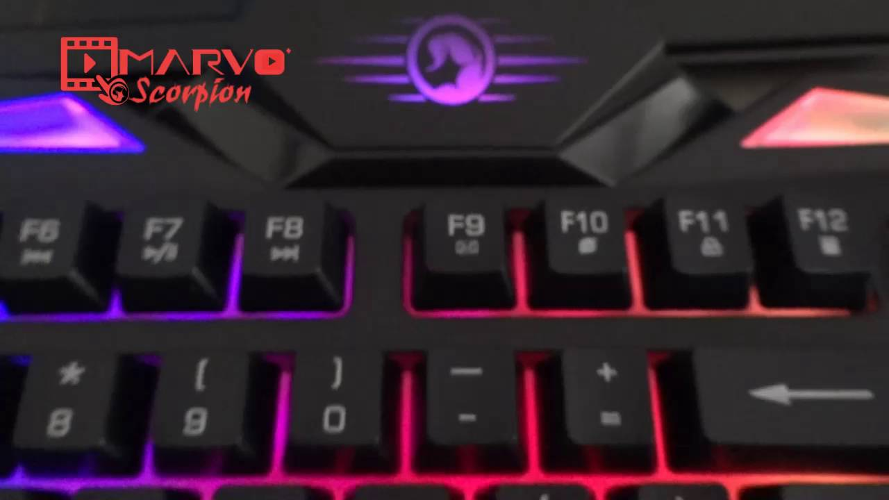 K608 By Marvo Iran Keyboard K945 Wired Gaming Full Mechanial Keyboards
