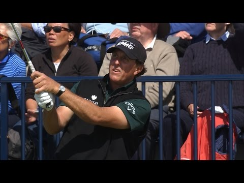 Top 5 shots from the first round of the 145th Open   Golf Channel