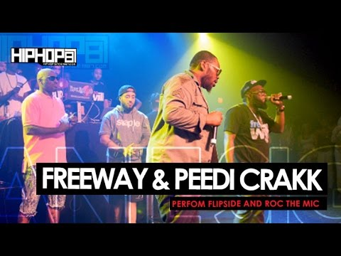 Freeway & Peedi Crakk Perform