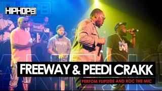 "Freeway & Peedi Crakk Perform ""Flipside"" & ""Roc The Mic"" (6/6/15)"