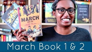 March book 1 & 2 by John Lewis | Graphic Novel Review
