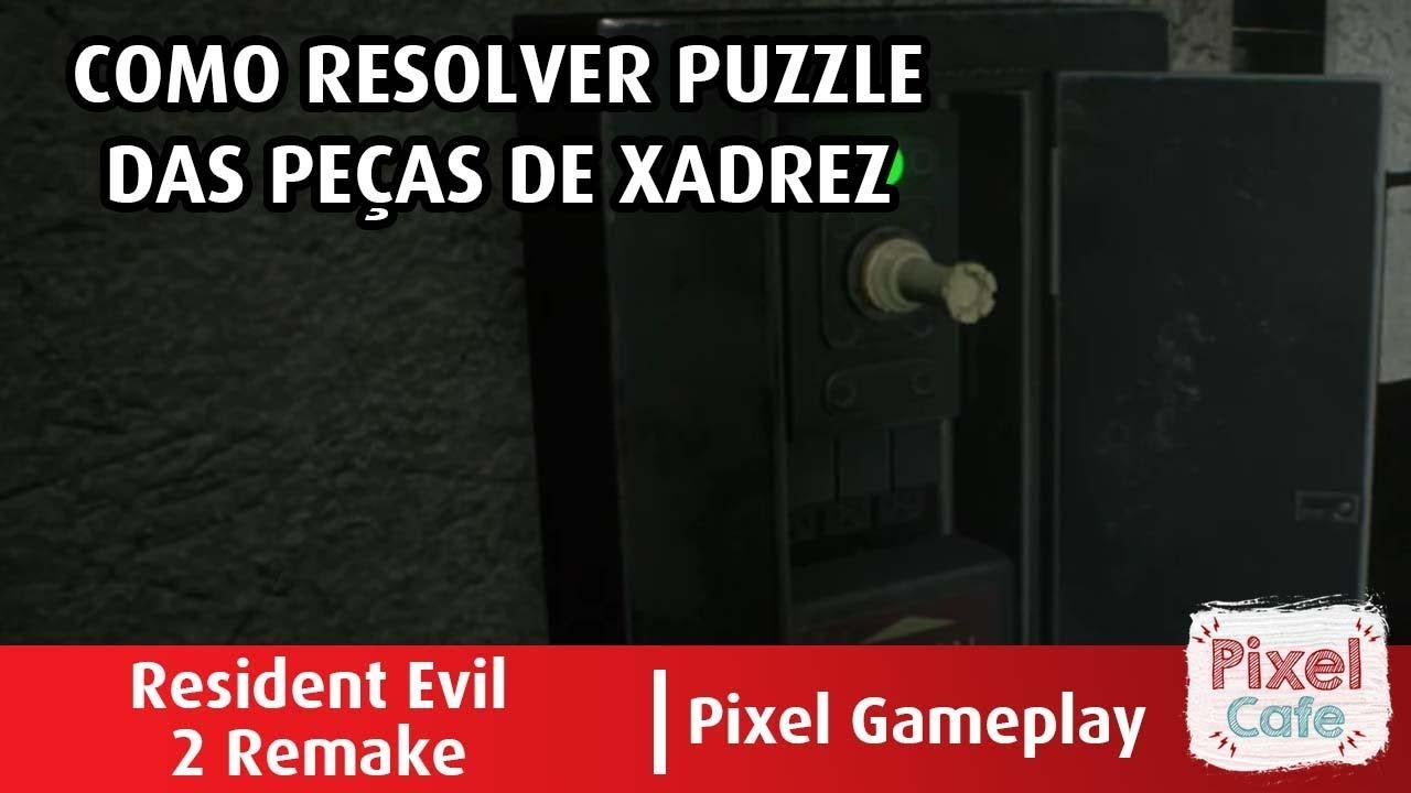 Puzzle Xadrez E Como Encontrar Todas As Pecas Resident Evil 2