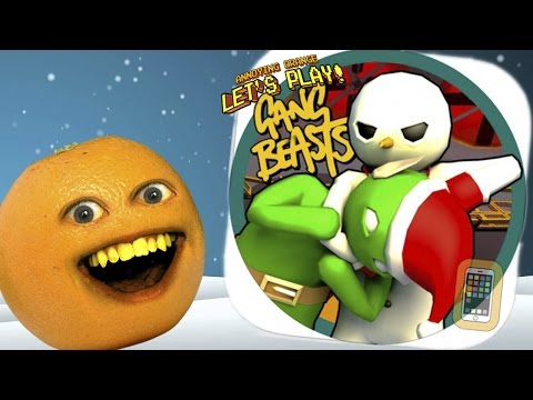 Annoying Orange Plays - STUPID GANG! (Hilarious derpy fighting)
