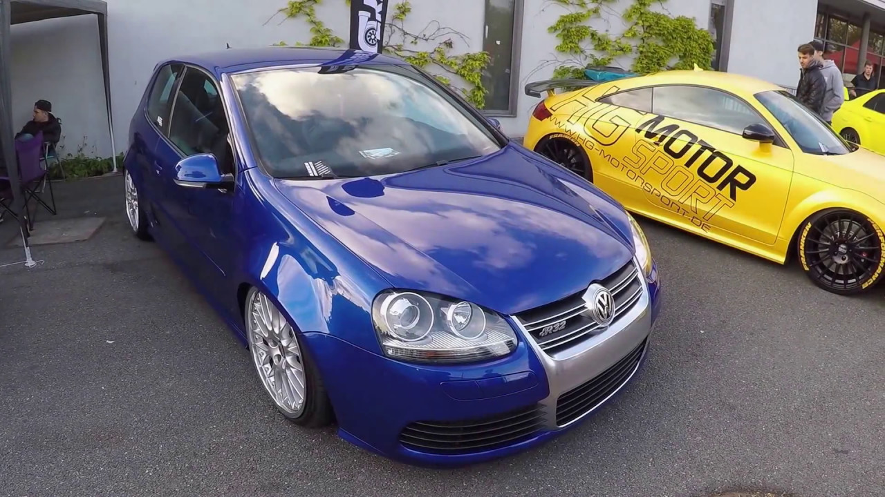 vw golf v r32 1k bbs wheels blue colour walkaround volkswagen golf 5 youtube. Black Bedroom Furniture Sets. Home Design Ideas