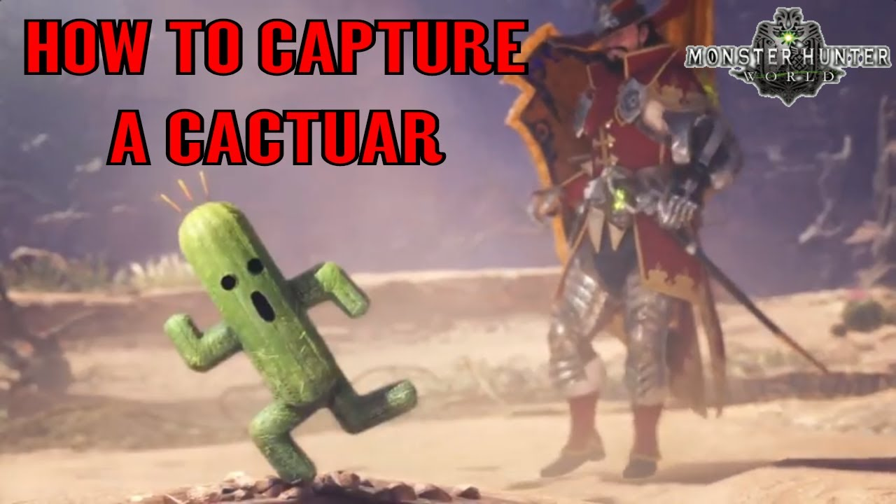 Monster Hunter Cactuar