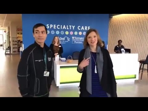 LIVE TOUR St. Louis Children's Hospital Specialty Care Center