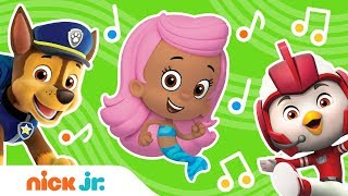 Theme Song Compilation w/ PAW Patrol, Shimmer & Shine & More! | Nick Jr. Music