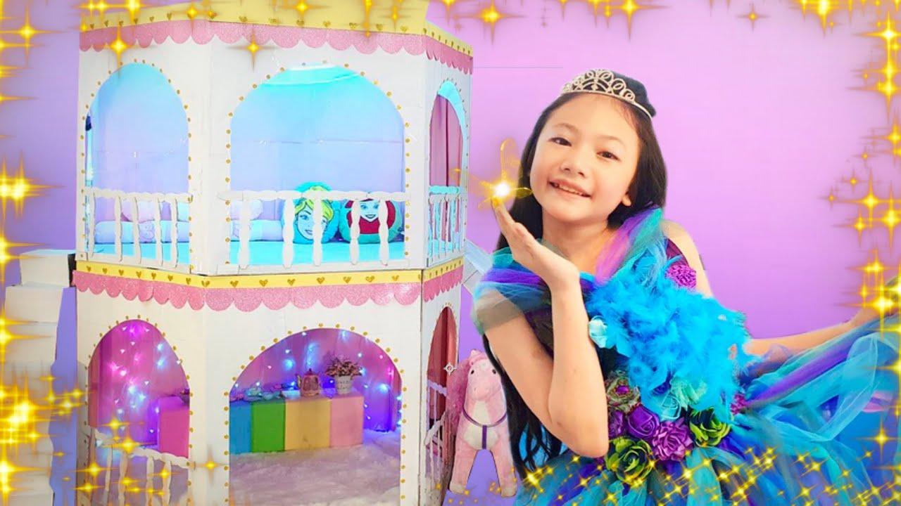 Bug is getting Ready Princess Fashion Show Vlog