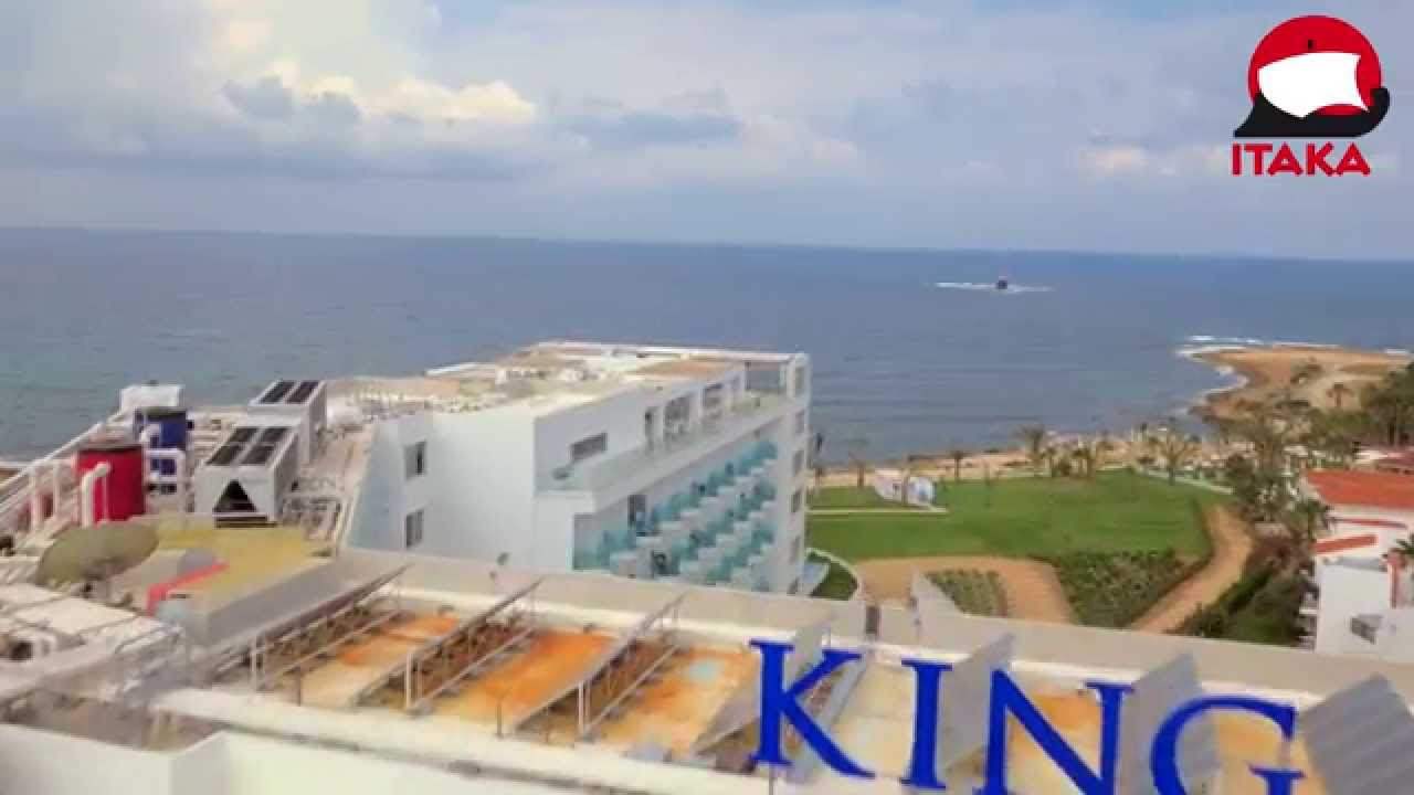 Itaka hotel king evelthon beach resort wczasy cypr pafos youtube