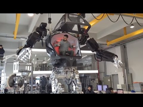 "In South Korea have created a robot METHOD-1, which is similar to the robots from the movie ""Avatar"""