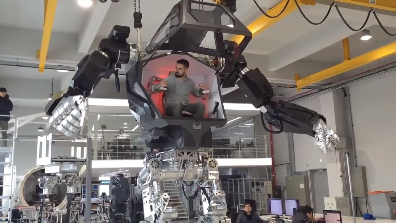 In South Korea Have Created A Robot Method 1 Which Is Similar To The Robots From The Movie