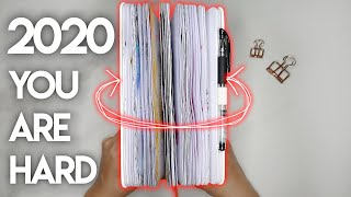 My Full 2020 Bullet Journal Flip Through | No Words For 2020 ✨