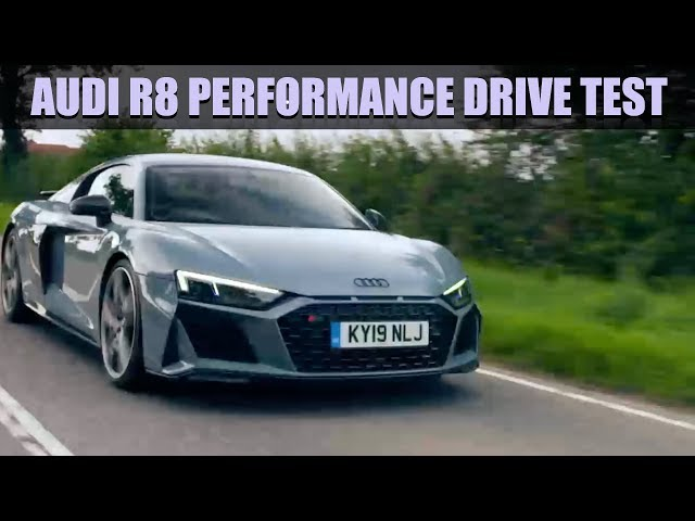 Fifth Gear's Audi R8 Performance Drive Test | Fifth Gear