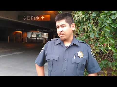 Modesto CA. Unprofessional Security Guards.(are you guys going to Identify yourselves?)