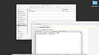 How to Zip and Unzip Files Command Line Terminal on a Mac OS X Yosemite