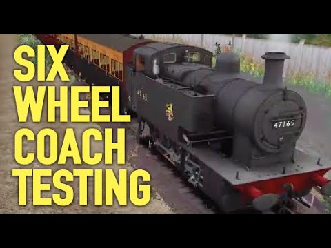 Testing & Derailing 6 Wheeled Coaches, Fowler 2F || Train Simulator 2021 |