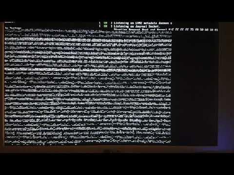 Arch linux, boot problem.