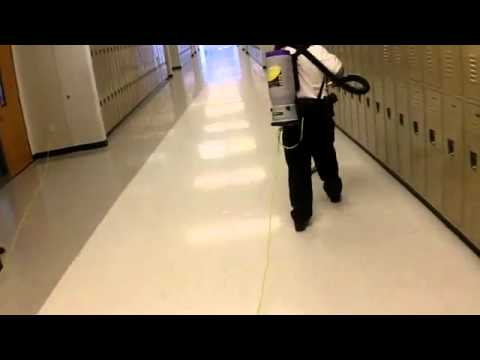 ProTeam - Loop Vacuuming in Process Cleaning for Healthy Schools