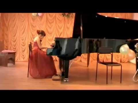22 мая 2009 г.,г  Херсон  Музыкальная школа№1 Ухварина Лиза и Степоненко Каролина