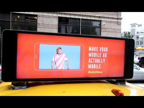OOH industry's responsive #GetOutofHome campaign to hit over