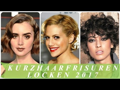 Kurzhaarfrisuren locken 2017