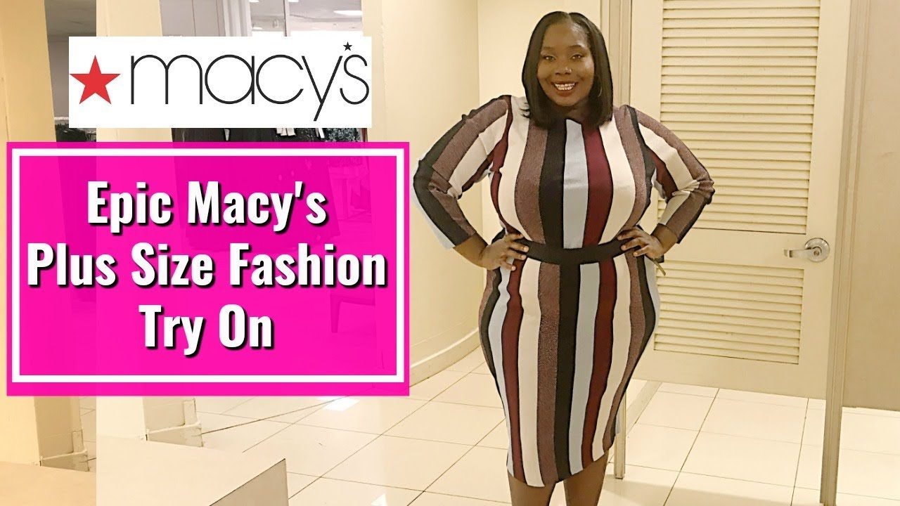 e8ea4782c25a Epic Macy s Plus Size Clothing Finds In New York City - YouTube