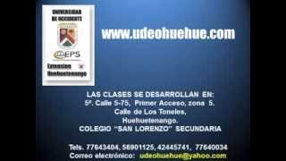 Universidad de Occidente Extension Huehuetenango