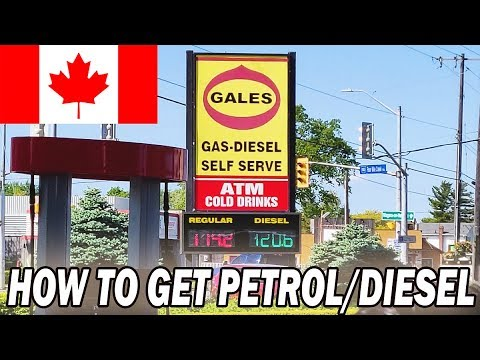 How Petrol Pump/Gas Station Works In Canada || Luvraj Tyagi || Canada