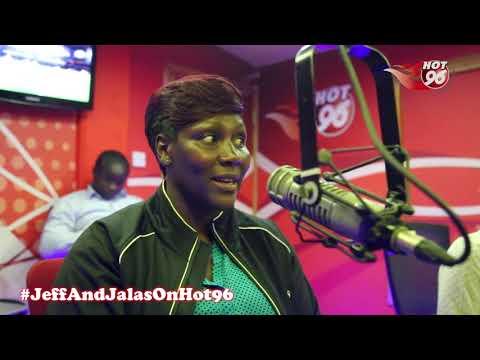 Kenyan FIFA female accredited referee, Tabitha Wambui, in studio Part 2