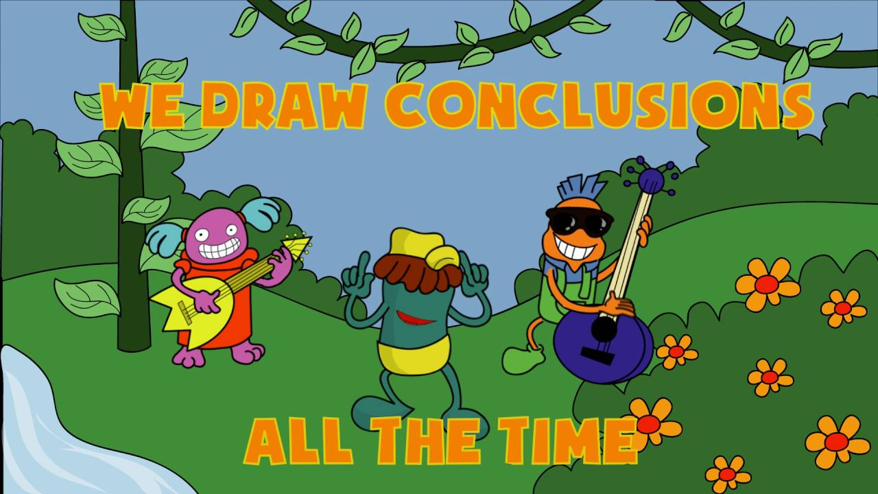 medium resolution of We Draw Conclusions - - Rock 2 the Core - K-5 Language - YouTube