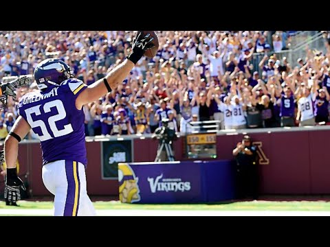 Chad Greenway Pick 6 vs. Chargers
