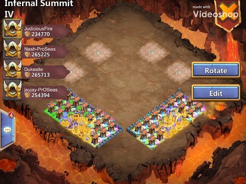 IS4: Infernal Summit IV | How To | Castle Clash