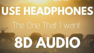 Zeper & Haley Sorg - The One That I Want (8D AUDIO)