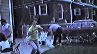 Rosedale Queens July 4th 1987  Home Movie of Friends Party