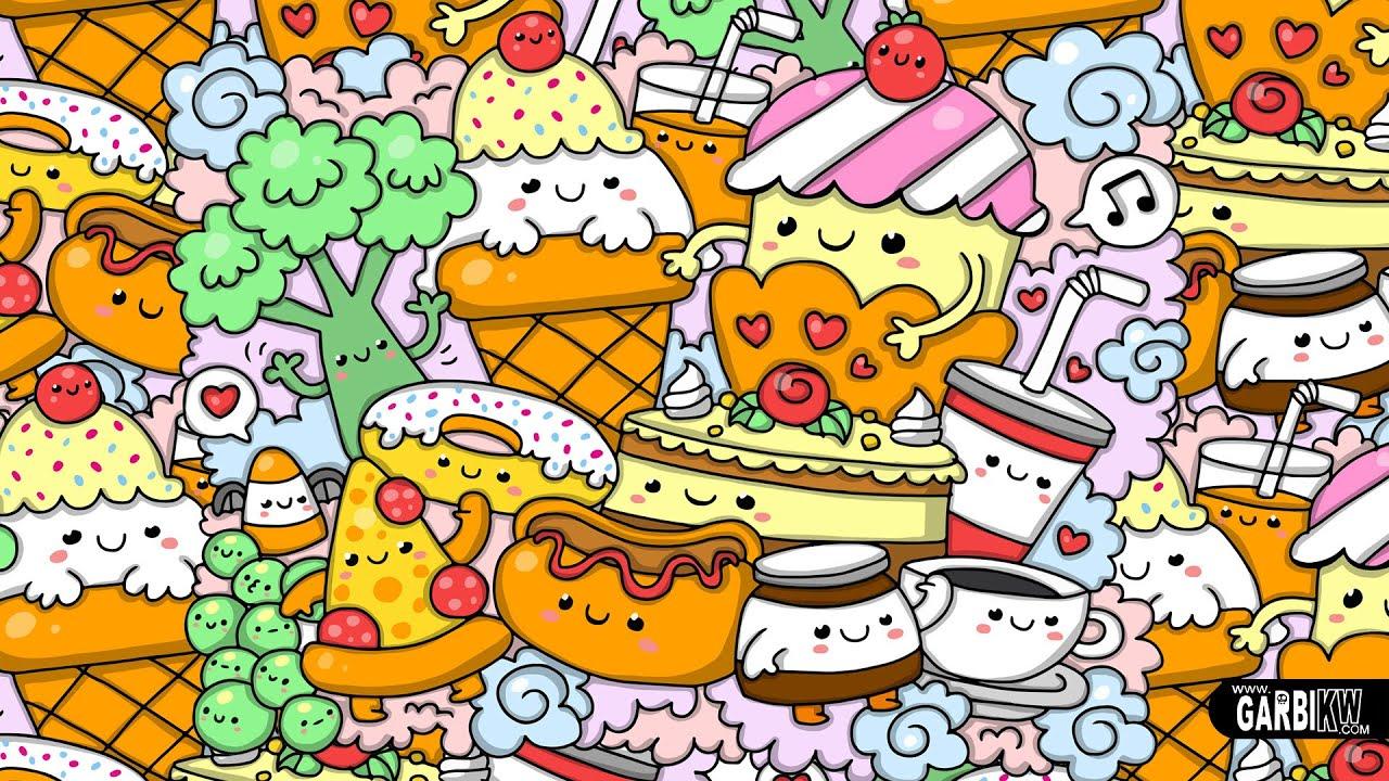 Kawaii Food - Kawaii Drawings and Cute Doodles - YouTube