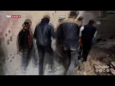 Esed rejiminin Doğu Guta'ya düzenlediği saldırılarda 15 sivil hayatını kaybetti.